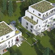 Das Bild zeigt einen Neubau in Zirndorf.