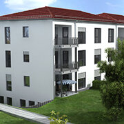 Das Bild zeigt einen Neubau in Eckental.