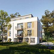 Das Bild zeigt einen Neubau in Herzogenaurach