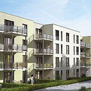 Das Bild zeigt einen Neubau in Oberasbach.